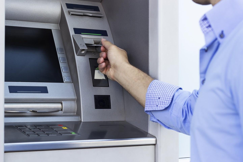восстановление или смена пароля через банкомат